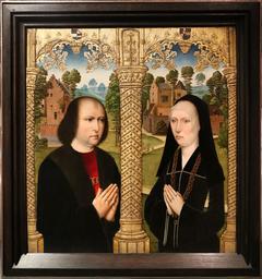Portraits of Barbe de Croesinck and Louis Quarré
