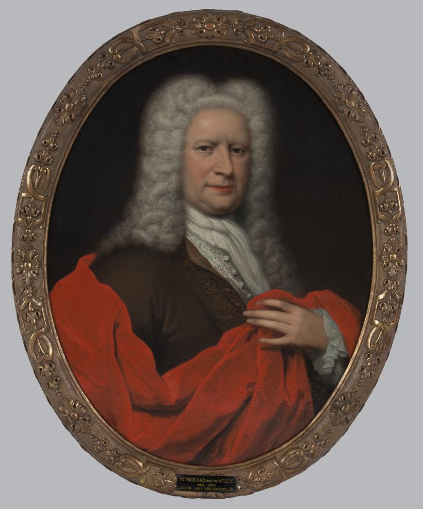 Portret van een man, mogelijk Nicolaas Paulus van Assendelft (1685-1748)