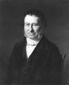 Portret van Mr. J. van de Stadt hoofdcommies der Thesaurie