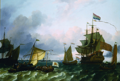 Princess Mary anchored off Durgerdam