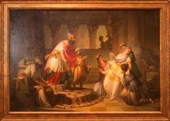 Queen Esther Before King Ahasuerus