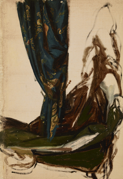 """Quinn's Attire and a Drapery. Studies to the Painting """"The Oath of Queen Jadwiga"""""""