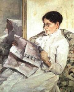 "Reading ""Le Figaro"""