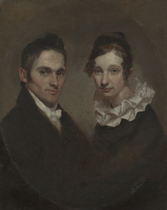 Reverend (1789-1869) and Mrs. Hiram Bingham (Sybil Mosely, d. 1848)