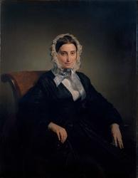 Ritratto di Teresa Manzoni Stampa Borri by Francesco Hayez