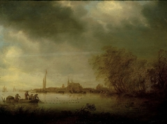 River Scene near Deventer