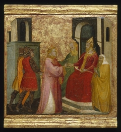 ''Saint Lawrence Arraigned Before the Prefect Valerianus''