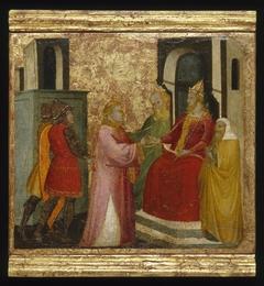 ''Saint Lawrence Arraigned Before the Prefect Valerianus''
