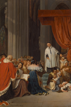Saint Vincent de Paul Preaching to the Court of Louis XIII on Behalf of the Abandoned Children