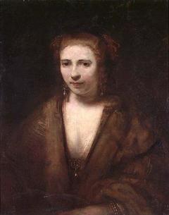 Saskia. Copy after Rembrandt