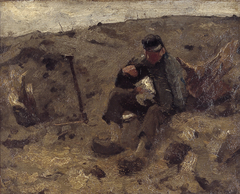 Schaftende landarbeider (Ewijkshoeve)