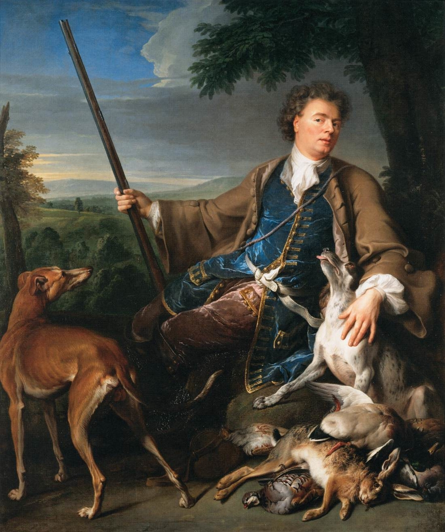Self-portrait in Hunting Dress
