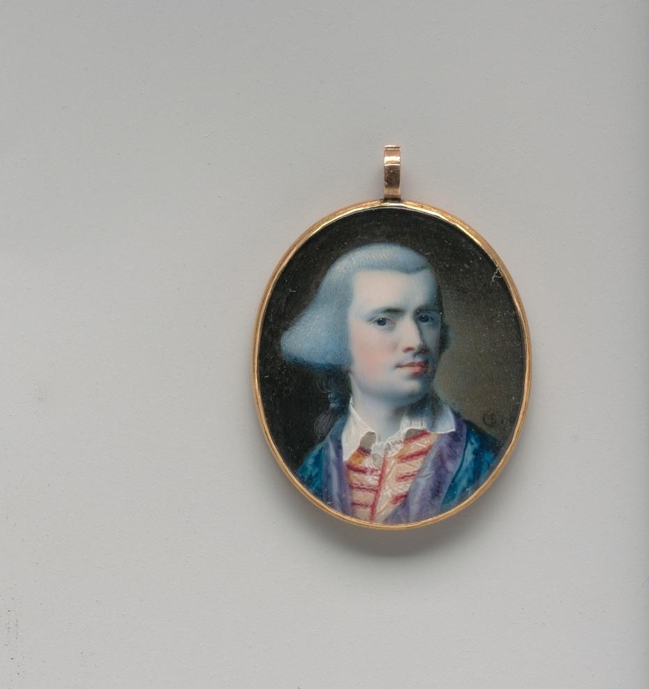 Self-portrait miniature