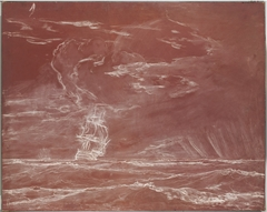 Ship in a Squall