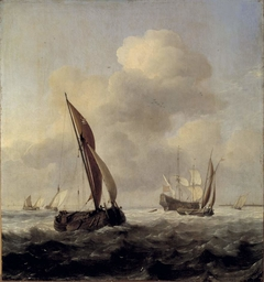 Ships in high seas