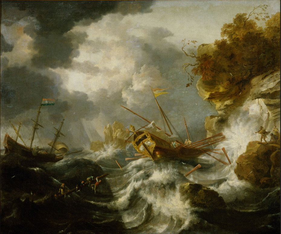 Ships in Trouble near the Coast