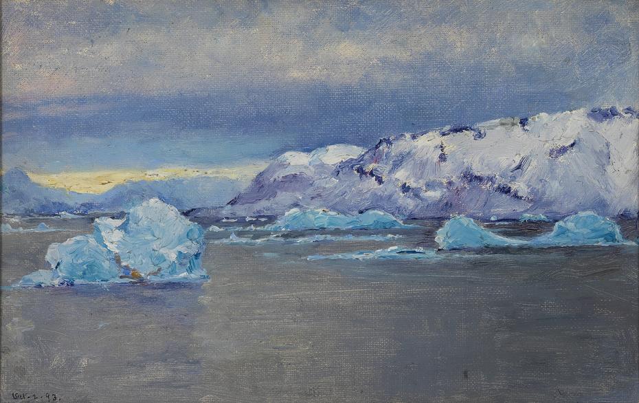 South Point, Bowdoin Bay, Greenland, October 2, 1893