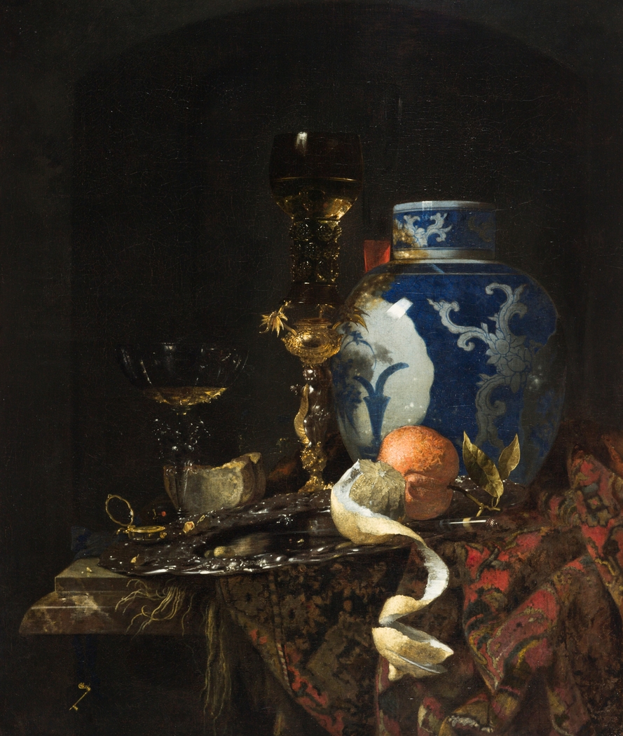 Still Life with a Chinese Porcelain Jar
