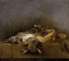 Still-Life with Two Rabbits
