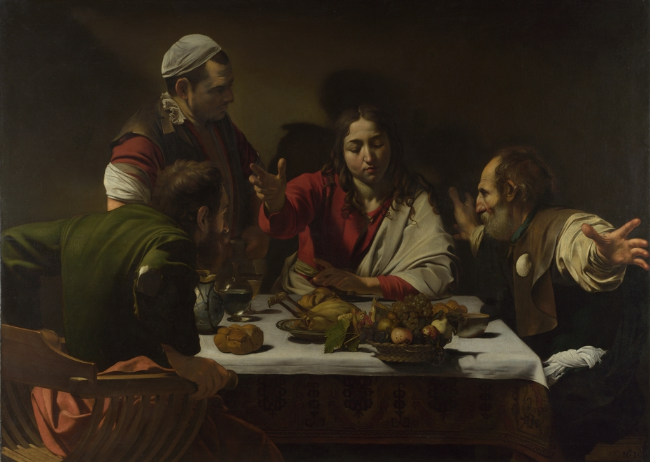 Supper at Emmaus (Caravaggio), London