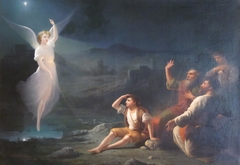 The Angel Appearing before the Shepherds