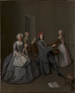 The Artist's Family Making Music Together