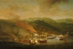 The Bombardment of Bastia, 6 November 1745