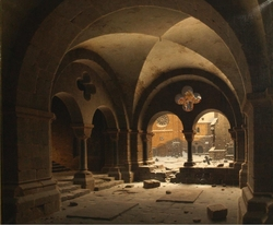 The Cloister of the Cathedral of Halberstadt