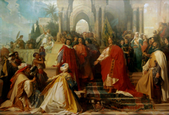 The Court of Emperor Frederick II in Palermo