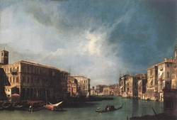 The Grand Canal from Rialto toward the North