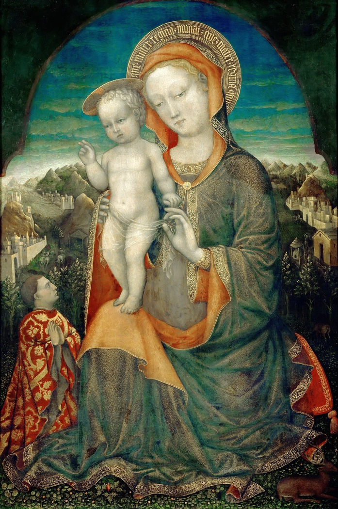 The Madonna of Humility Adored by a Prince of the House of Este