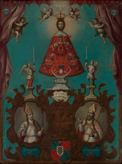 The Virgin of El Camino with St. Fermín and St. Saturnino