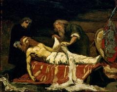 The winding of St. Olav's Body
