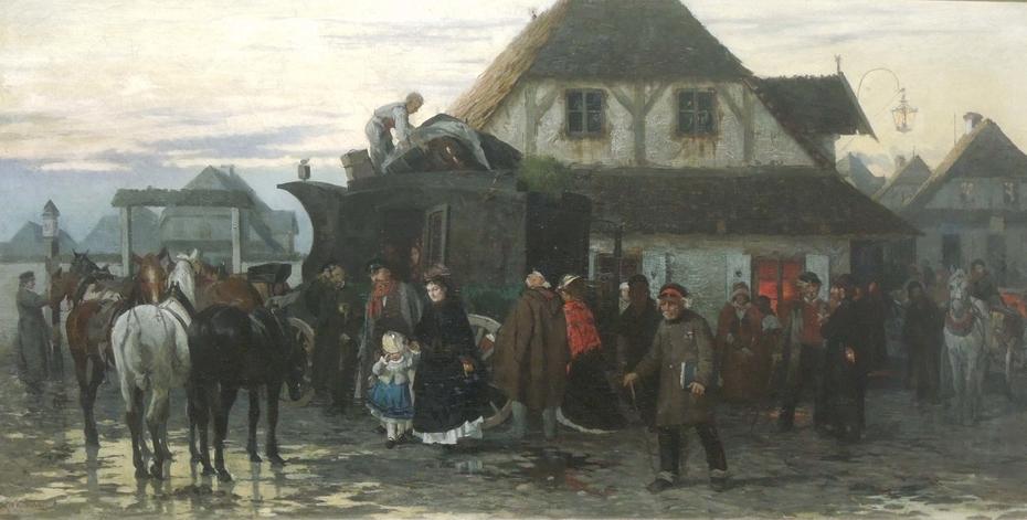 Untitled Alfred Wierusz Kowalski Artwork On Useum