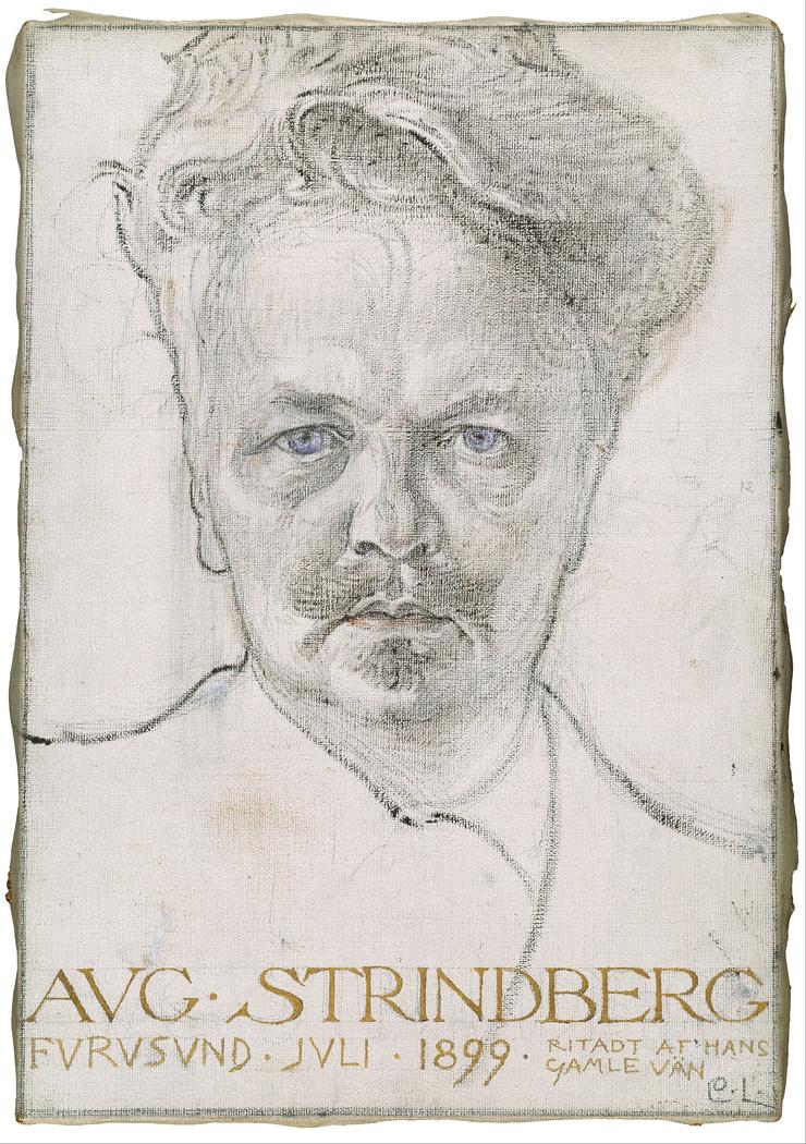 The author August Strindberg
