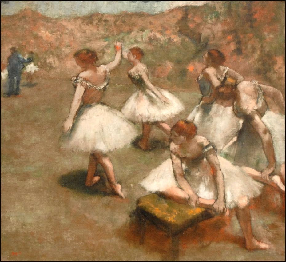 Danseuses sur la scène