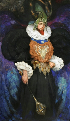 Portrait of Bronisław Brykner in a fancy dress