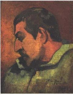 Selfportrait, dedicated to his friend Daniel
