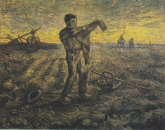 Evening Hour (After Millet)
