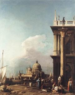 Venice: The Piazzetta towards Santa Maria della Salute