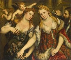 Venus, Flora, Mars and Cupid (Allegory)