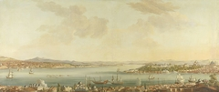View of Constantinople (Istanbul) and the Seraglio from the Swedish Legation in Pera