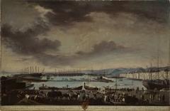 View of the Old Port of Toulon (El puerto viejo de Tolón)