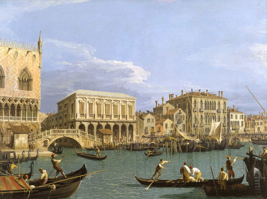 View of the Riva degli Schiavoni, Venice