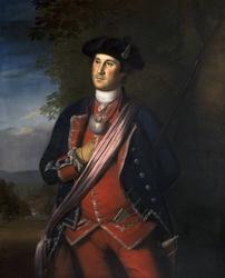 Washington in the Uniform of a British Colonial Colonel