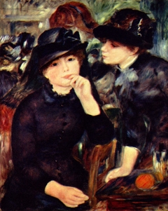 Young Girls in Black